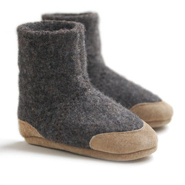 Baby Slipper Boots, Toddler Shoes, Eco Friendly, Sizes 0-12, 6-18, 12-24 months, Lamb to School