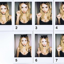 danielle sharp - Nasty Cat Polaroids