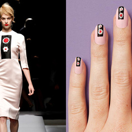 NAILS DIY - Inspired by Prada SS13