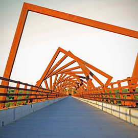 Iowa, USA - High Trestle Trail