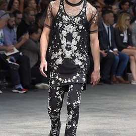 GIVENCHY by Riccardo Tisci - see-through tops