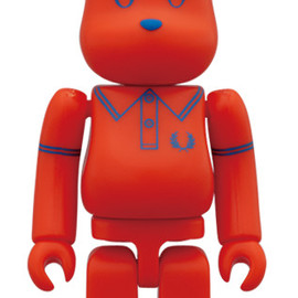 BE@RBRICK - FRED PERRY 60th Anniversary BE@RBRICK BEAMS Ver.