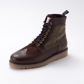 Fred Perry - Harris Tweed Boot