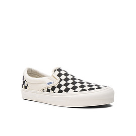 Vans - Vault OG Classic Slip-On LX in Black/White Checkerboard
