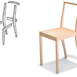 Vitra - Plywood Chair / Jasper Morrison