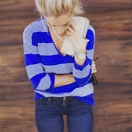 Madewell - deckhouse sweater in stripe