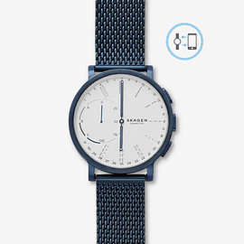 Skagen - Hagen Connected Steel-Mesh Hybrid Smartwatch