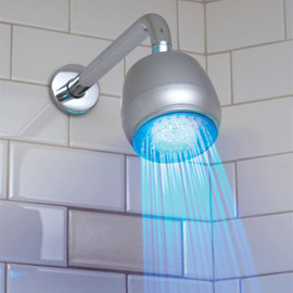 alanatt - LED Bathroom Shower Head Light