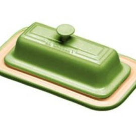 le creuset - Covered Butter Dish Kiwi Green