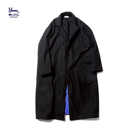 SOPHNET., Yarmo - YARMO WOOL MELTON LAB COAT