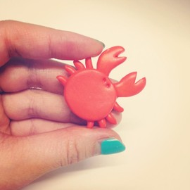 Luulla - Crab Brooch, Cancer Horoscope Star Sign