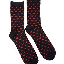 FOREVER 21 - Heart-Patterned Socks