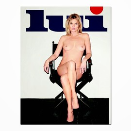 Kate Moss, Terry Richardson - Kate Moss Poses Nude for LUI Magazine Shot by Terry Richardson