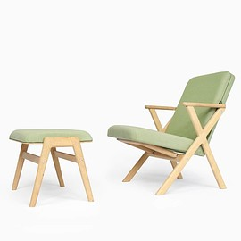 studio lorier - Hybrid Chair and Footstool