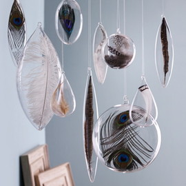 Roost Floating Feather Ornament Sets