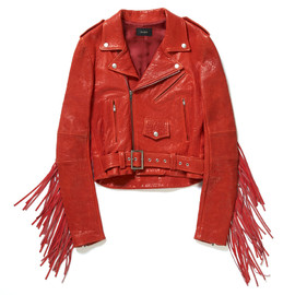 G.V.G.V - Leather Fringe Riders Jacket