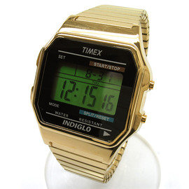TIMEX - DIGITAL/GOLD