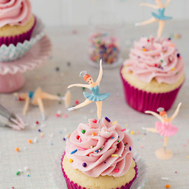 Sweet Ballerina Cupcakes from Bakingdom