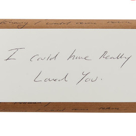 Liberty - Lavender Soap with Tracey Emin's Handwritten Poem Wrapper