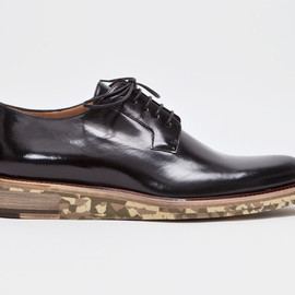 Dries Van Noten - Derby Shoe Black/Camouflage