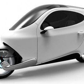 Lit Motors - The C-1 is a proposed fully-electric and fully-enclosed self-balancing motorcycle