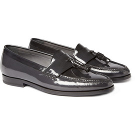 LANVIN - Patent Tasselled Loafers