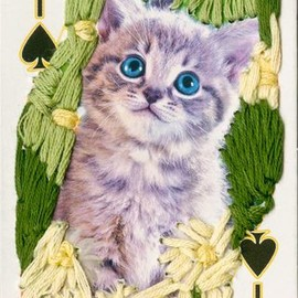 Sina Michalskaja - 36 embroidered playing cards