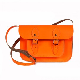 "The Cambridge Satchel Company Ltd - Satchel Bag, 11"" Neon Orange"