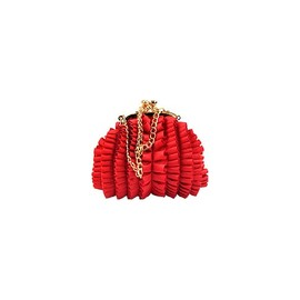 Moschino - Ruffles Mini Bag - Red
