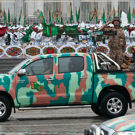 TOYOTA - Hilux Turkmenistan's Military Motor Vehicle