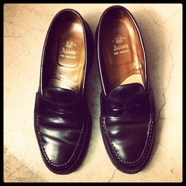 ALDEN - SHELL CORDOVAN COLOR 8 PENNY LOAFER