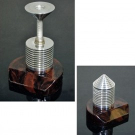"""1940's """"Art Deco"""" Paper Weight&Postal Scale【MARBLE×ALUMINUM】"""