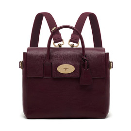 Mulberry - Cara Delevingne Bag - Oxblood Natural Leather