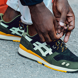 J.CREW, ASICS - Gel Lyte III - Evergreen