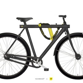 "VANMOOF - VANMOOF Noir 5 with single speed and 28"" frame"