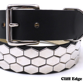 A BATHING APE - 3ROW HEXAGON BELT