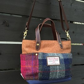 Folna Harris Tweed - two way bag
