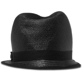 Paul Smith Shoes & Accessories Straw Trilby Hat
