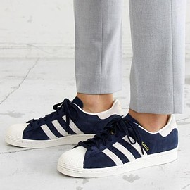 adidas - adidas super star navy