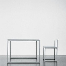 "A.G Fronzoni for Cappellini - ""64"" table and chair series, ca 1964"