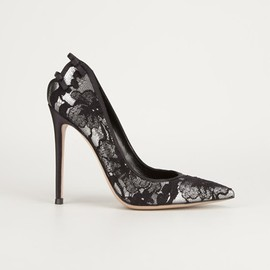 GIANVITO ROSSI - lace pump