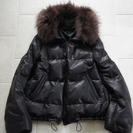 sisii - SHEEP CABRETTA DOWN JACKET