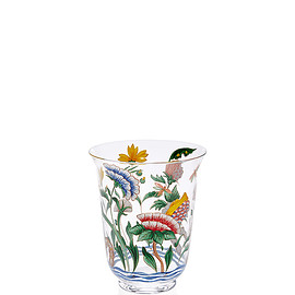 LOBMEYR - Chinese Handpainted Floral Tumbler