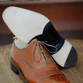 stefano bemer - oxfords in tobacco calf leather