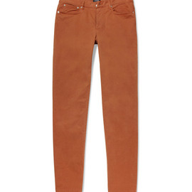 A.P.C. - Petit Standard Slim-Fit Cotton-Blend Trousers