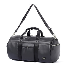 "HEAD PORTER - ""KRUGER"" BOSTON BAG BLACK"
