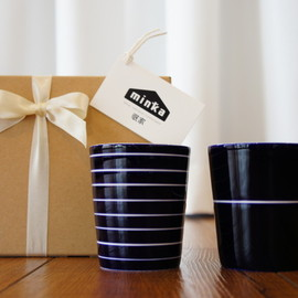 DESIGN HOUSE STOCKHOLM - 8stripe mug & 1stripe mug