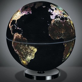 Fascinations - City Lights Political Globe