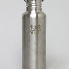 ....... RESEARCH, KLEAN KANTEEN - Mountain Research: 1772 Bottle w / Bamboo Cap