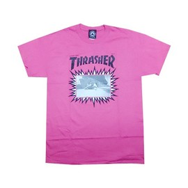 THRASHER - JAY ADAMS EXPLOSIVE COVER T-Shirt (Pink)